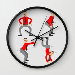 KRAF-TWERK Wall Clock