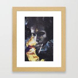 'psychadylanica' Framed Art Print