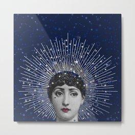 Queen of Stardust Metal Print