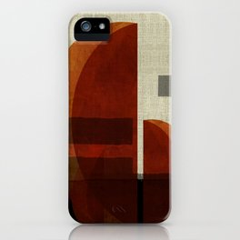 """""""Abstract Ships at Sunset"""" iPhone Case"""