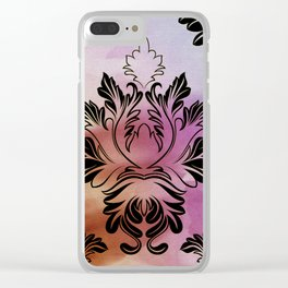 FIRE Victorian Era Clear iPhone Case