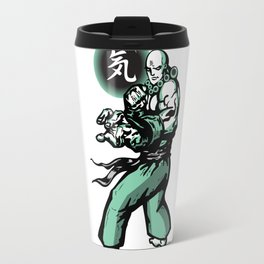 The Monk and The Orb Travel Mug
