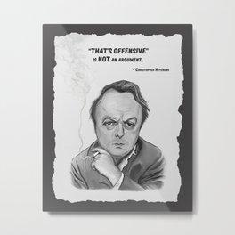 Hitchens Metal Print