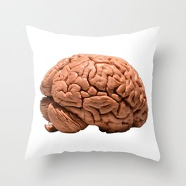 Braaain! Throw Pillow