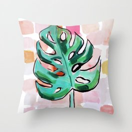 Life In The Shaded, Warm Air Is Good For The Soul Throw Pillow