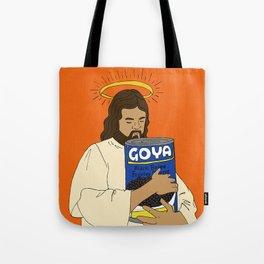 Jesus con Goya Tote Bag