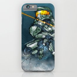 HALO / MASTER Ch iPhone Case