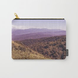 Violet Hills Carry-All Pouch