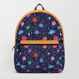 Astrology Zodiac Constellation in Midnight Blue Backpack