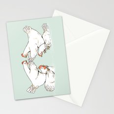 Chicken Fight Stationery Cards