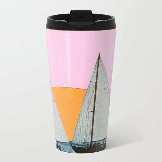 Into the Sunset Metal Travel Mug