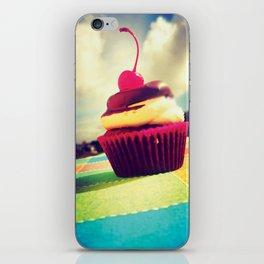 Colorful Cupcake iPhone Skin