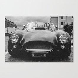 Cobra (3) Matte black Canvas Print