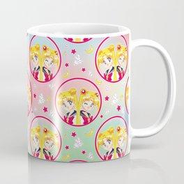 Usagi Tsukino VS Sailor Moon pattern Coffee Mug