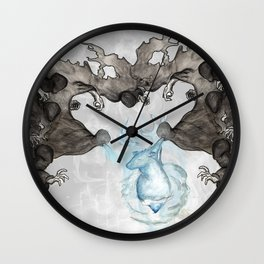 Dementor's kiss Wall Clock