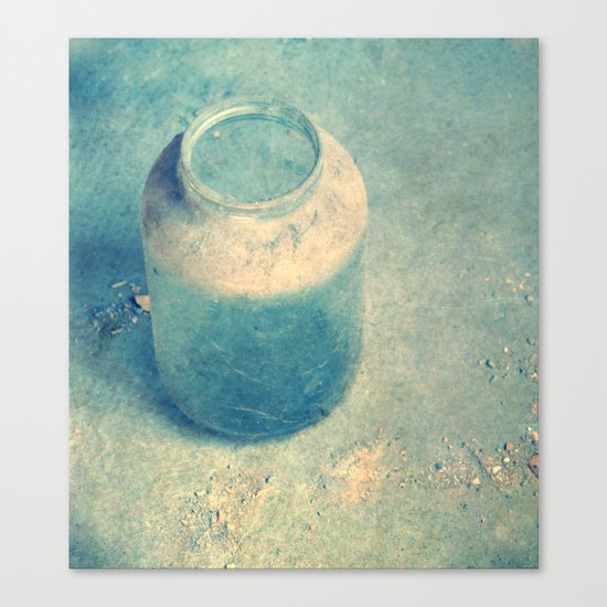 old glass Canvas Print