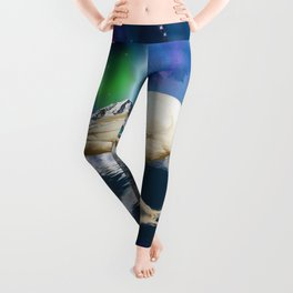 Spirit Raven - Keeper of Worlds Leggings