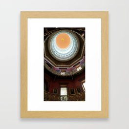 New Jersey's Capital Dome - Interior Framed Art Print