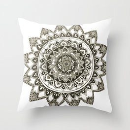 Fiji Mandala Throw Pillow
