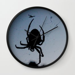 Our Pet Spider Wall Clock