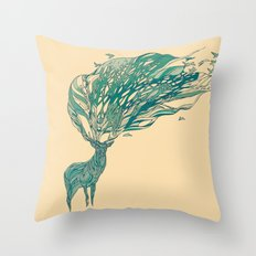 How Good It Feels Throw Pillow