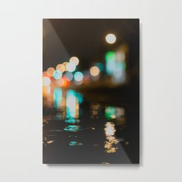 Hot lights Metal Print