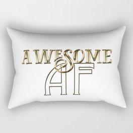 Awesome AF Rectangular Pillow