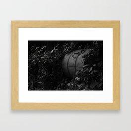The Nondescript Grey Area  Framed Art Print
