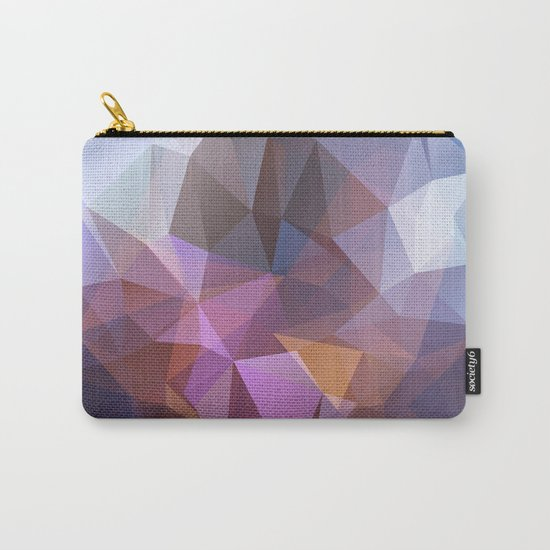 Abstract illustration of triangles polygon Carry-All Pouch