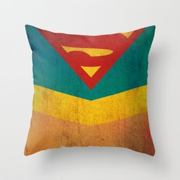Supergirl Throw Pillow