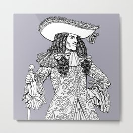 Spanish Explorer Metal Print