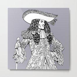 Spanish Explorer Metal Print