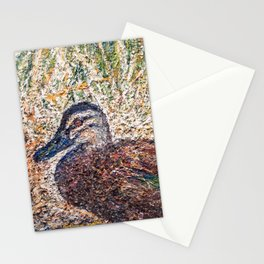 Mr. Mallard Stationery Cards