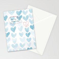 Be my Valentine. Stationery Cards
