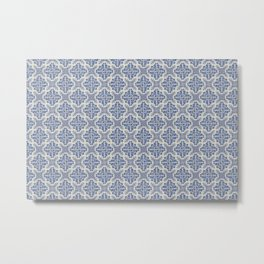 Portuguese Old Tiles 3 Metal Print