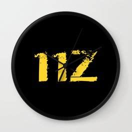 11Z Infantry MOS Wall Clock