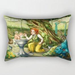 Thalessa Meets Them Rectangular Pillow