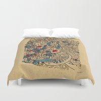 medieval Duvet Covers featuring - medieval - by Magdalla Del Fresto