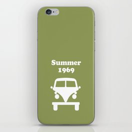 Summer 1969 - Green iPhone Skin