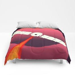 Mars Express - Exploration of Mars Space Art. Comforters