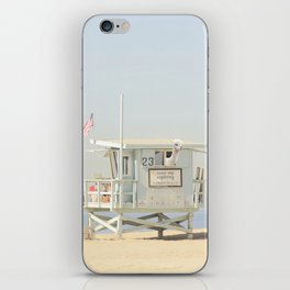 NEVER STOP EXPLORING VENICE BEACH No. 23 iPhone Skin