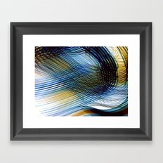 Colored shadows Framed Art Print