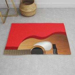 Guitar composition Rug