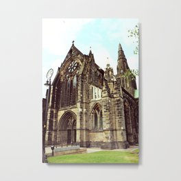 glasgow cathedral medieval cathedral Metal Print
