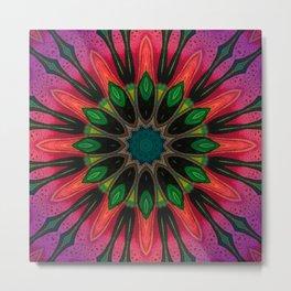 Blooming Mandala 03 Metal Print