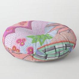 Flower Burst Floor Pillow