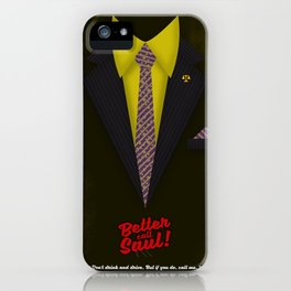 "Better Call Saul - Suit No. #6 - James Morgan ""Jimmy"" McGill's Style. iPhone Case"