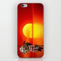 bioshock iPhone & iPod Skins featuring sunset bioshock by sgrunfo
