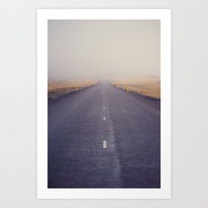 Nowhere Road Art Print