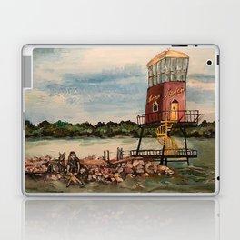 Dock on Sandusky Bay Laptop & iPad Skin